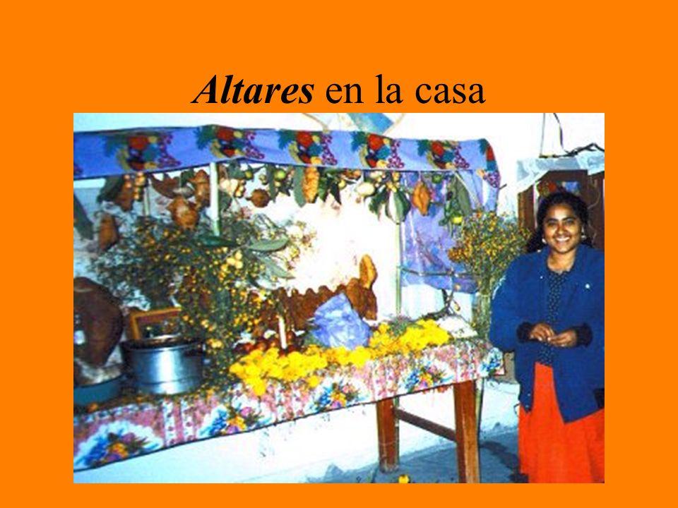 Altares en la casa