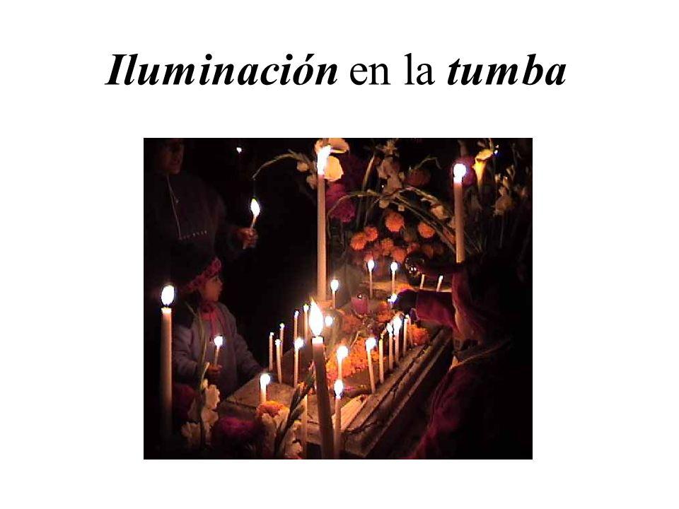 Iluminación en la tumba