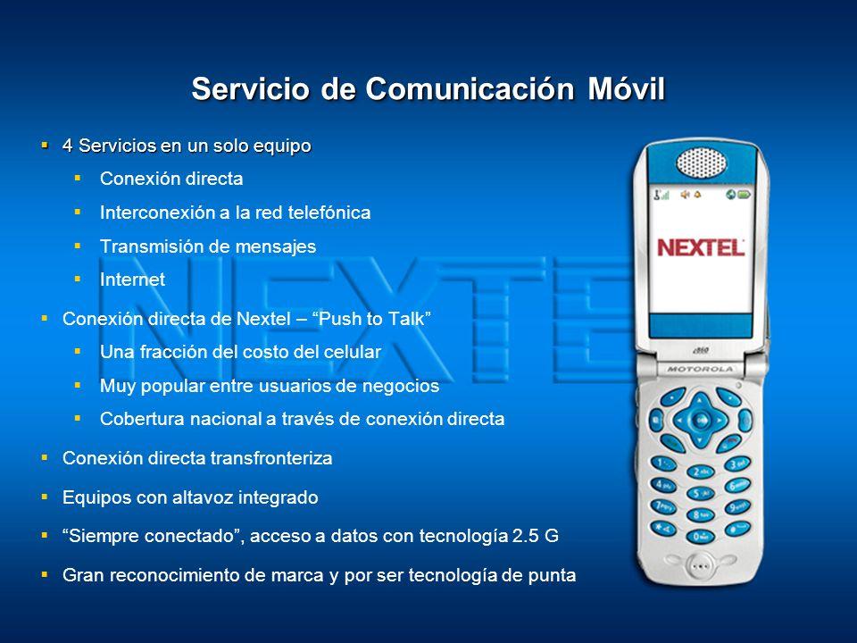 1 Luis Garcia Orozco Abril 2008 Nextel, Donde la Gente Hace la Diferencia