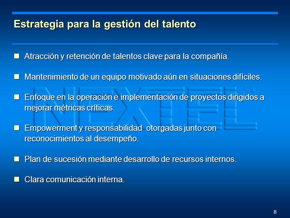 7 Resultado de la primera etapa Logro de los objetivos planteados en la estrategia comercial.