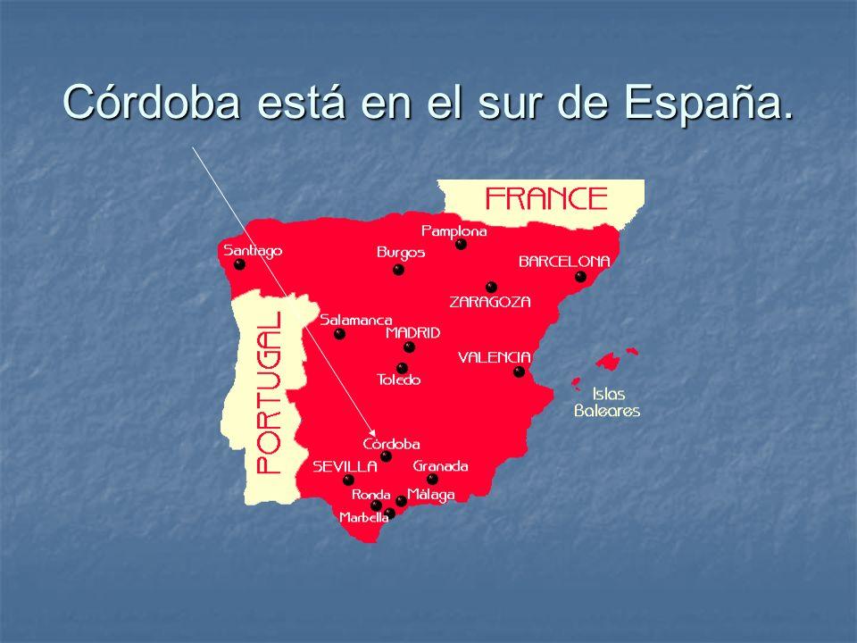 La bandera de Córdoba El escudo de Córdoba Córdoba Por su posición es considerada el Corazón de Andalucía.
