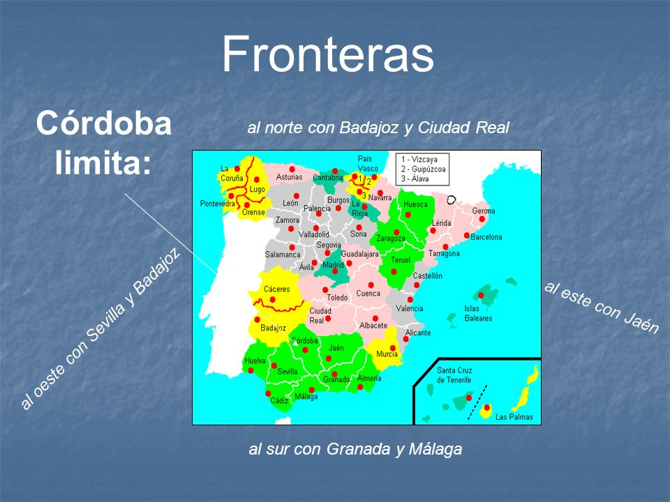 Córdoba capital está situada a las orillas del río Guadalquivir y al pie de Sierra Morena.