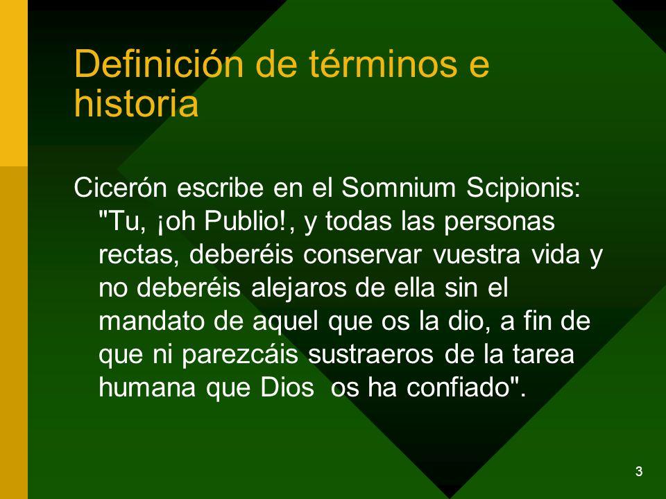 3 Cicerón escribe en el Somnium Scipionis: