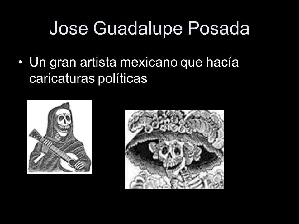 Jose Guadalupe Posada Un gran artista mexicano que hacía caricaturas políticas