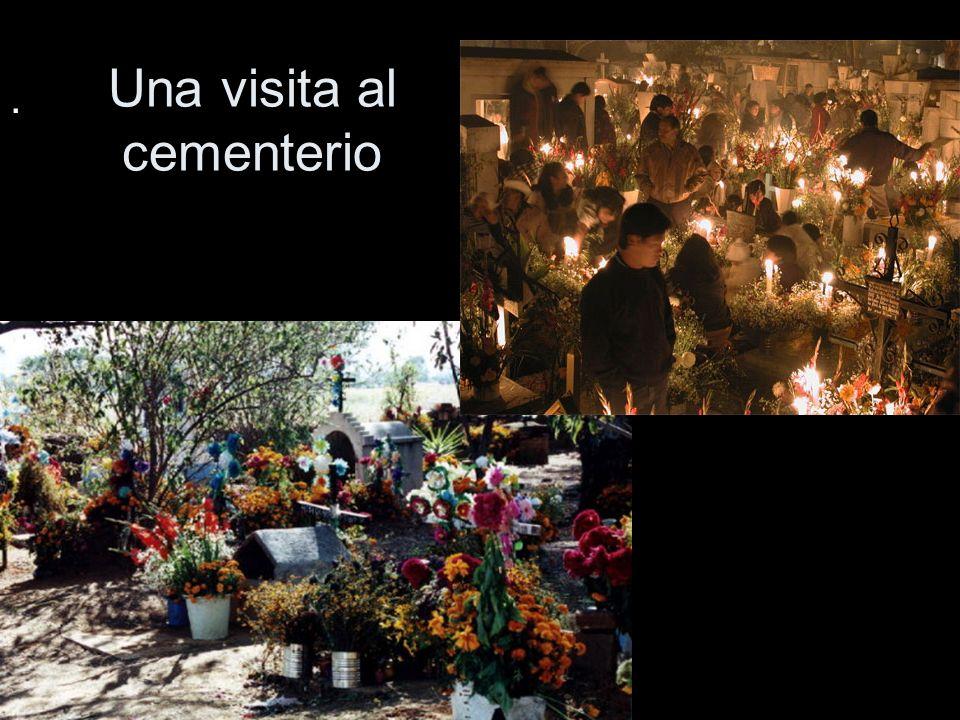 Una visita al cementerio.