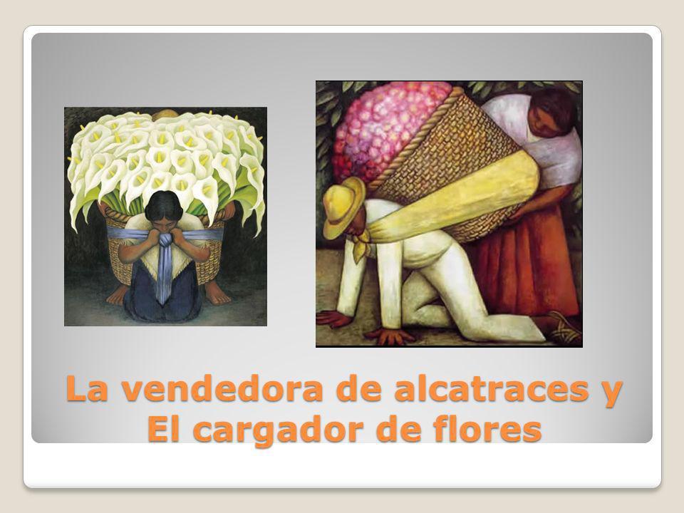 La vendedora de alcatraces y El cargador de flores