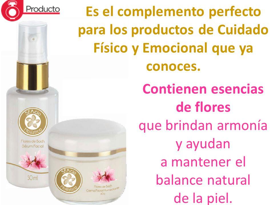 Es el complemento perfecto para los productos de Cuidado Físico y Emocional que ya conoces. Contienen esencias de flores que brindan armonía y ayudan