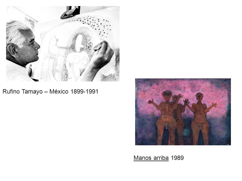 Rufino Tamayo – México 1899-1991 Manos arriba 1989