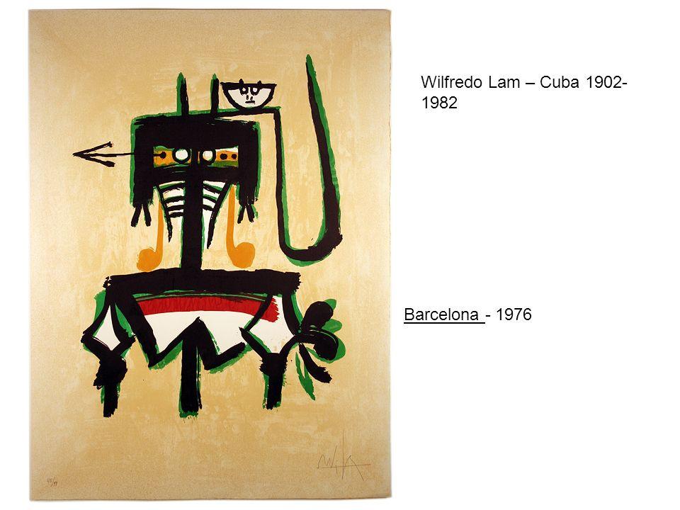 Wilfredo Lam – Cuba 1902- 1982 Barcelona - 1976