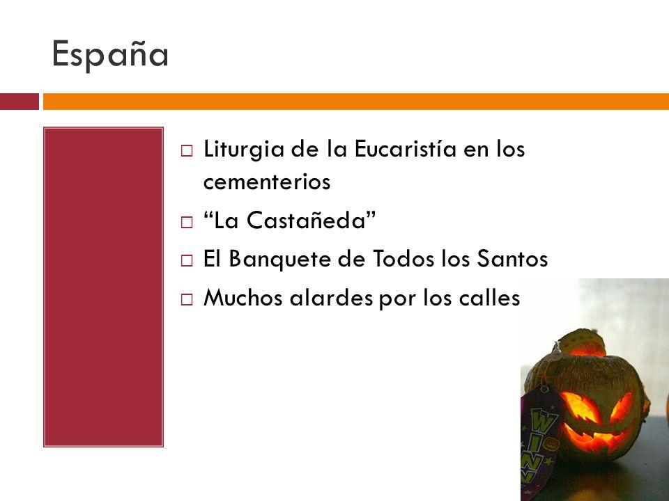 España Ofrendas y flores estan puestos cerca de las fosas de los muertos Don Juan Tenorio por José Zorrilla Dulces: Huesos de Santos y Buñuelos de Viento