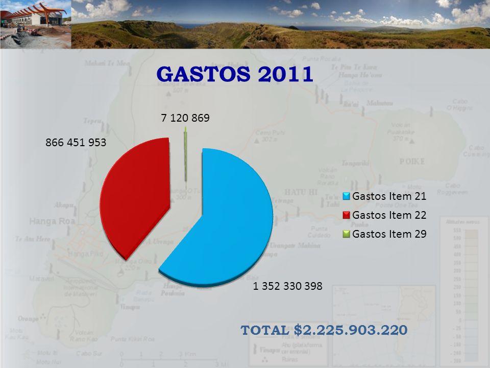 GASTOS 2011