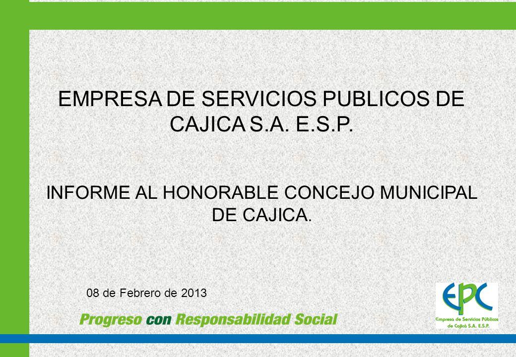 1. INFORME SOBRE LA GESTION ADMINISTRACION REALIZADA EN 2012