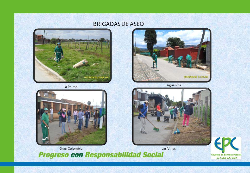 GESTION AMBIENTAL- PGIRS 2012 CONFERENCIAS Y ACTIVIDADES LÚDICAS EN INSTITUCIONES EDUCATIVA PÚBLICAS Y PRIVADAS N° INSTITUCIÓN EDUCATIVAN° CAPACITADOS 1 JARDIN APRENDAMOS JUGANDO 30 2 IED RINCON SANTO161 3 FUNDACION CASA VIEJA170 4 IED GRANJITAS173 5 IED EL MISTERIO349 6 JHON BARDEN21 7 SEDE IED CARLOS LLERAS191 8 SEDE RIO FRIO LA FLORIDA201 9 MARIA GORRETI191 10 GIMNASIO VIRTUAL43 11 SOTO MAYOR368 12 SAN ISIDRO LABARADO162 13 GRANDES PERSONITAS151 14 LOS LAURELES131 15 ICBF261 16 JARDIN INFATIL CAFAM SANDRA CEBALLOS 78 TOTAL2681 Desarrollo de ciclos de conferencias y actividades lúdicas centradas en temas asociados al manejo adecuado de los residuos sólidos y comparendo ambiental.