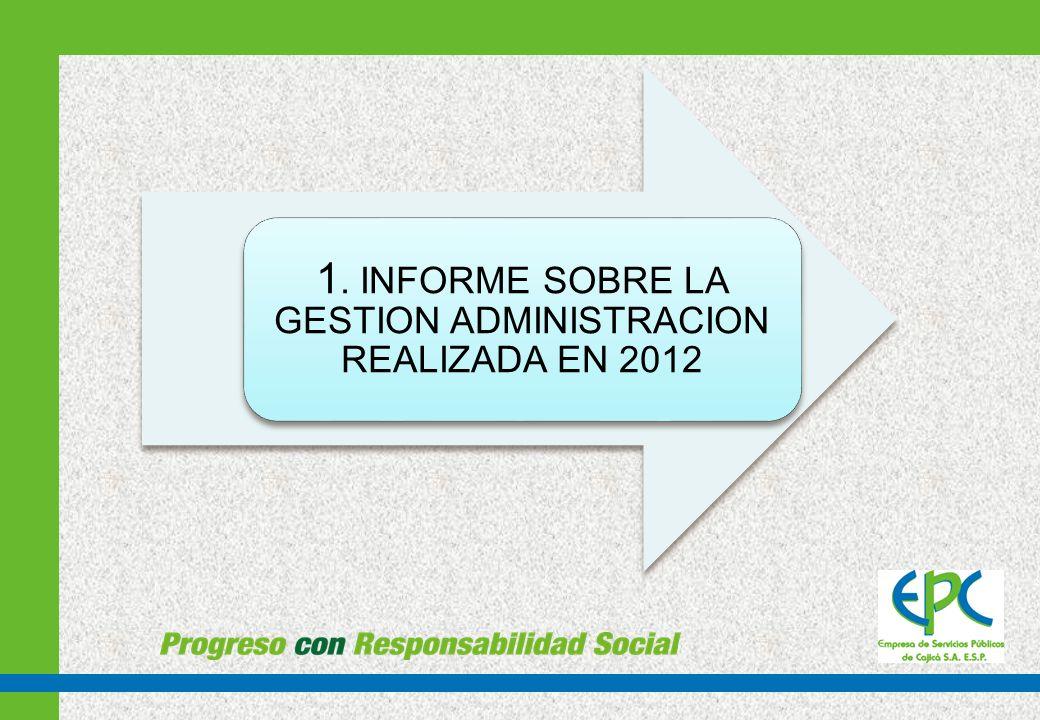 Al comenzar una nueva administración de la Empresa de Servicios Públicos de Cajicá S.A.
