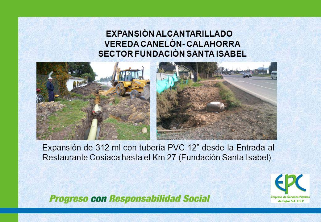 MANEJO AGUAS LLUVIAS EN LA VEREDA CANELÒN SECTOR SAN JUAN DEL CAMINO - UNIVERSIDAD MANUELA BELTRÀN Construcción de 400 ml en 20, 8 pozos de inspección cónico 3 mt cabezal en concreto y 12 sumideros para el manejo de aguas lluvias.