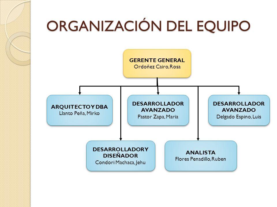 REQUERIMIENTOS Paquete de Datos Registro de datos estadísticos.