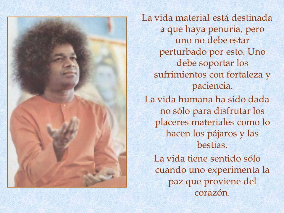 PAZ La quinta de las flores es shanti (paz). Uno debe mantenerse apacible a través de todas las vicisitudes de la vida. Sólo así puede uno llegar a al