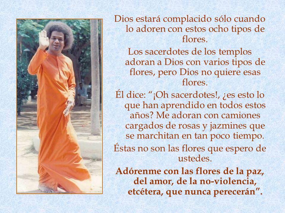 VERDAD La octava es la flor de sathya (verdad). Esto es muy importante: El mundo entero se ha originado de la verdad, es sostenido por la verdad y fin