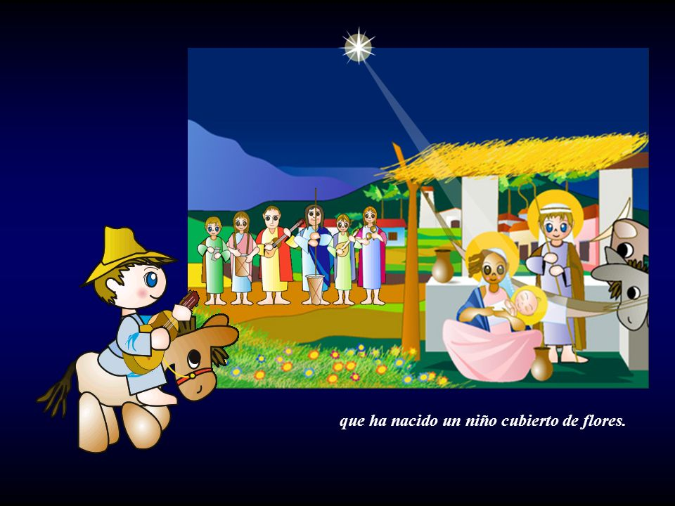Al niño nacer dicen los pastores:
