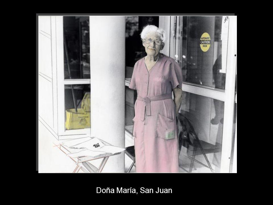 Doña María, San Juan