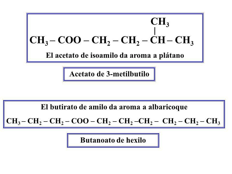 El aroma y olor naturales de un alimento proceden de la combinación de un gran número de sustancias y no sólo de un compuesto. Por ejemplo, el número