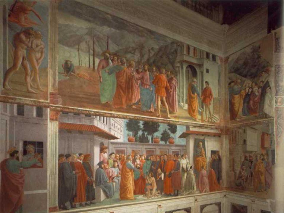 Quattrocento Italiano Pintura: Massaccio · Murió con 28 años y por eso su obra es escasa Comentario