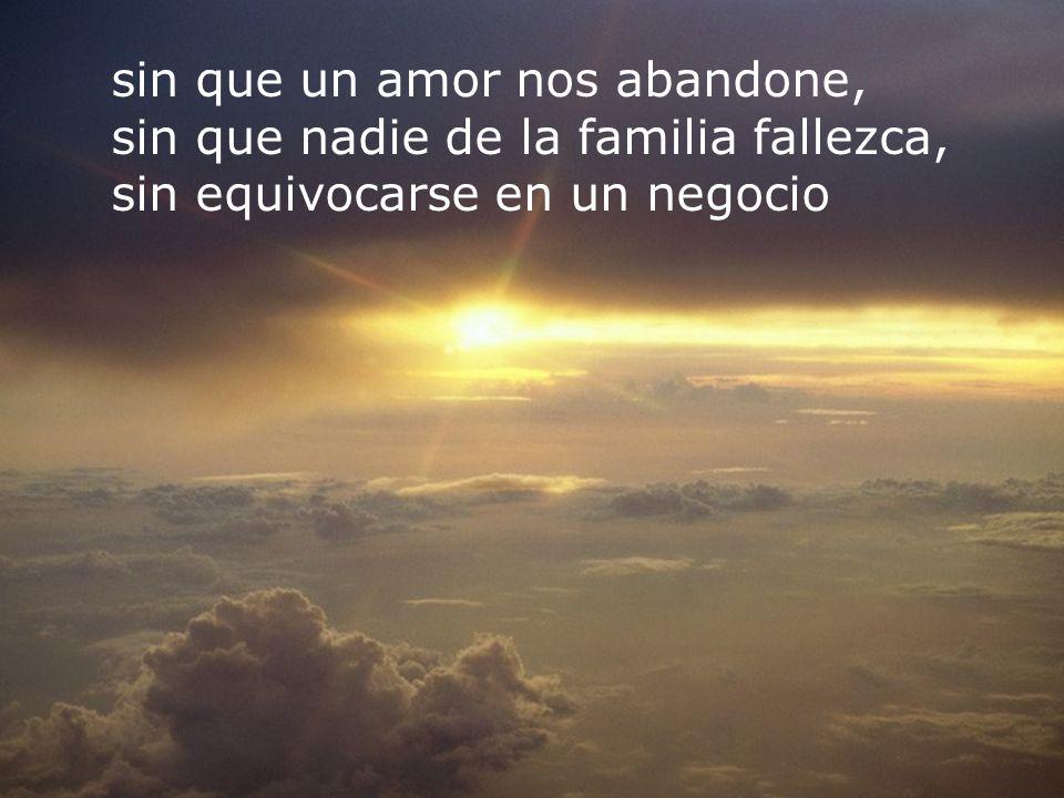 RECOMENZAR sin que un amor nos abandone, sin que nadie de la familia fallezca, sin equivocarse en un negocio
