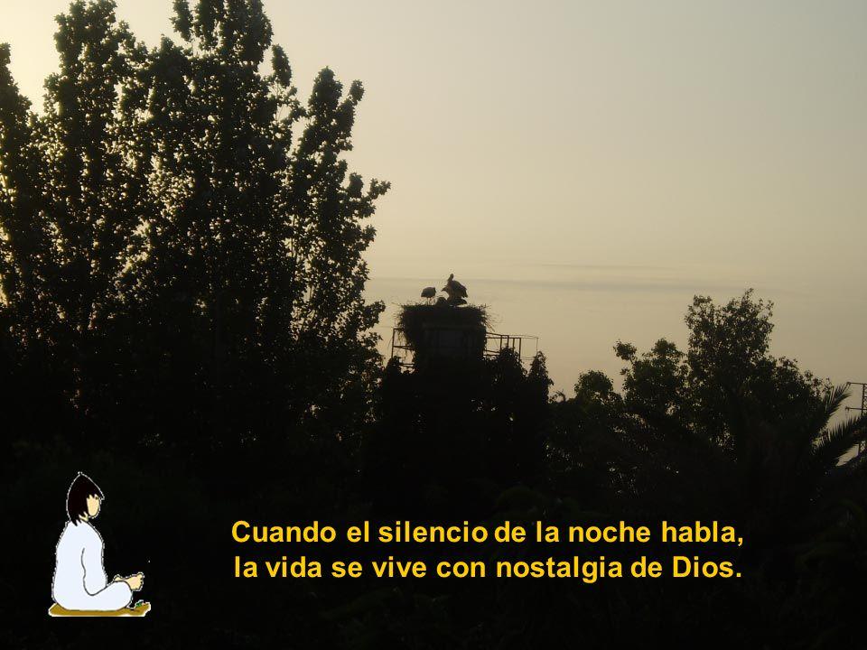 Cuando el silencio del misterio habla, la vida se transforma en adoración.