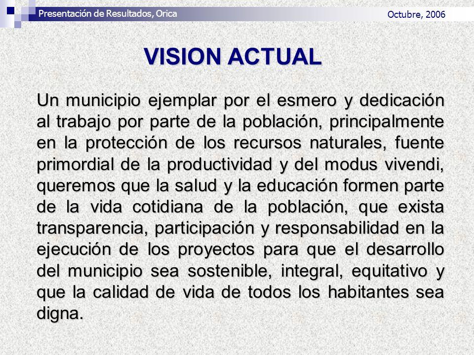Un municipio ejemplar por el esmero y dedicación al trabajo por parte de la población, principalmente en la protección de los recursos naturales, fuen