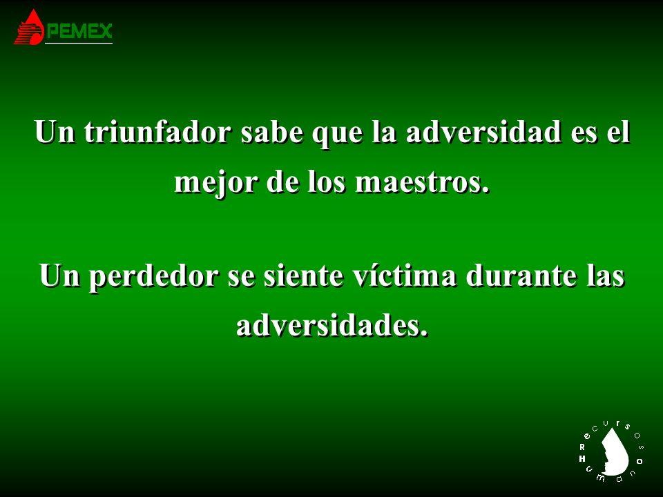 Cuando un triunfador comete un error, dice: Me Equivoqué, y aprende la lección.