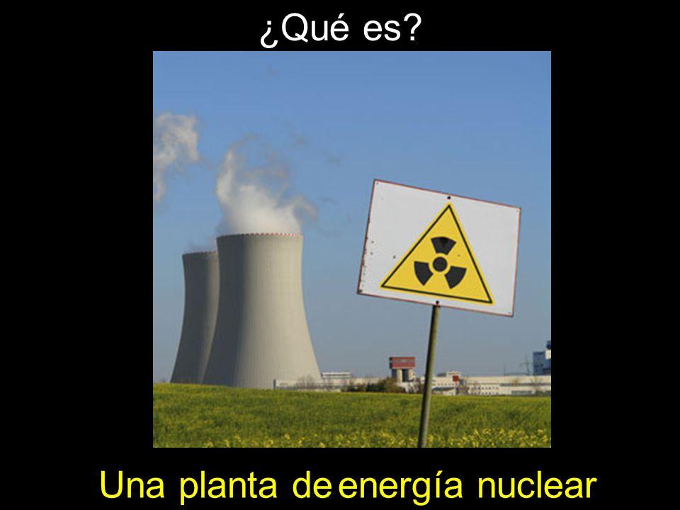 energía nuclear Una planta de