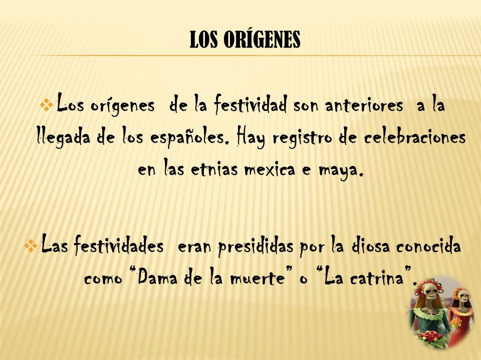 Los orígenes de la festividad son anteriores a la llegada de los españoles. Hay registro de celebraciones en las etnias mexica e maya. Las festividade