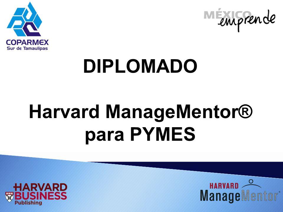 DIPLOMADO Harvard ManageMentor® para PYMES