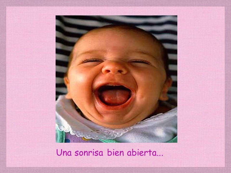 Una sonrisa de quien no está entendiendo nada...