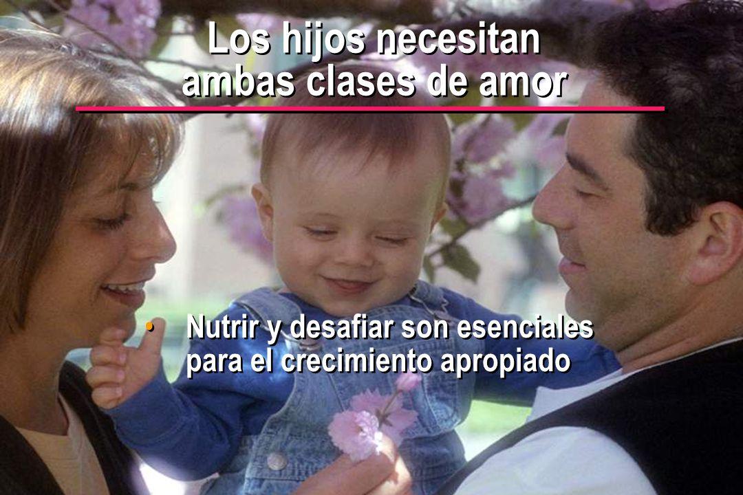 © IEF 12 PRE 1.2.1s Los hijos necesitan ambas clases de amor Nutrir y desafiar son esenciales para el crecimiento apropiado