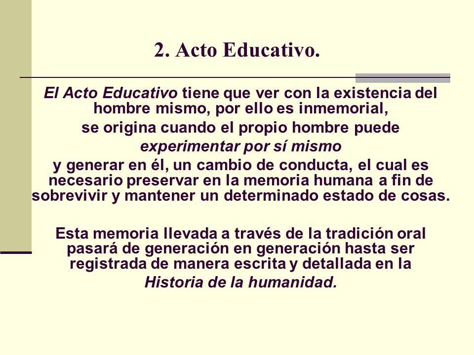 2.Acto Educativo.