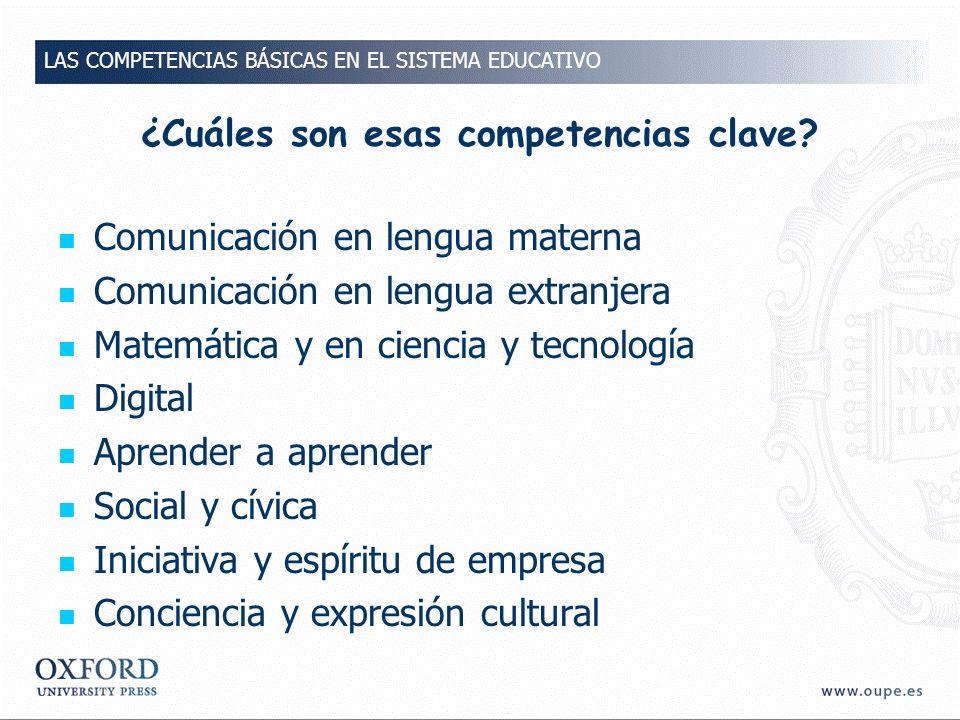 ¿En qué consiste la competencia en el Conocimiento y la interacción con el mundo físico.