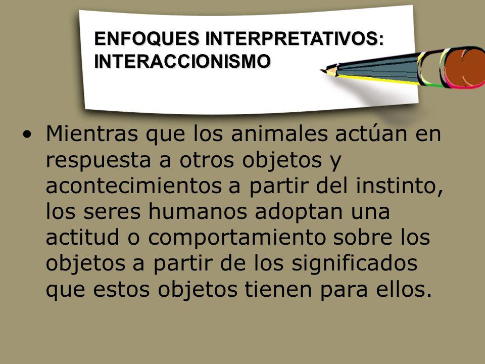 Mientras que los animales actúan en respuesta a otros objetos y acontecimientos a partir del instinto, los seres humanos adoptan una actitud o comport