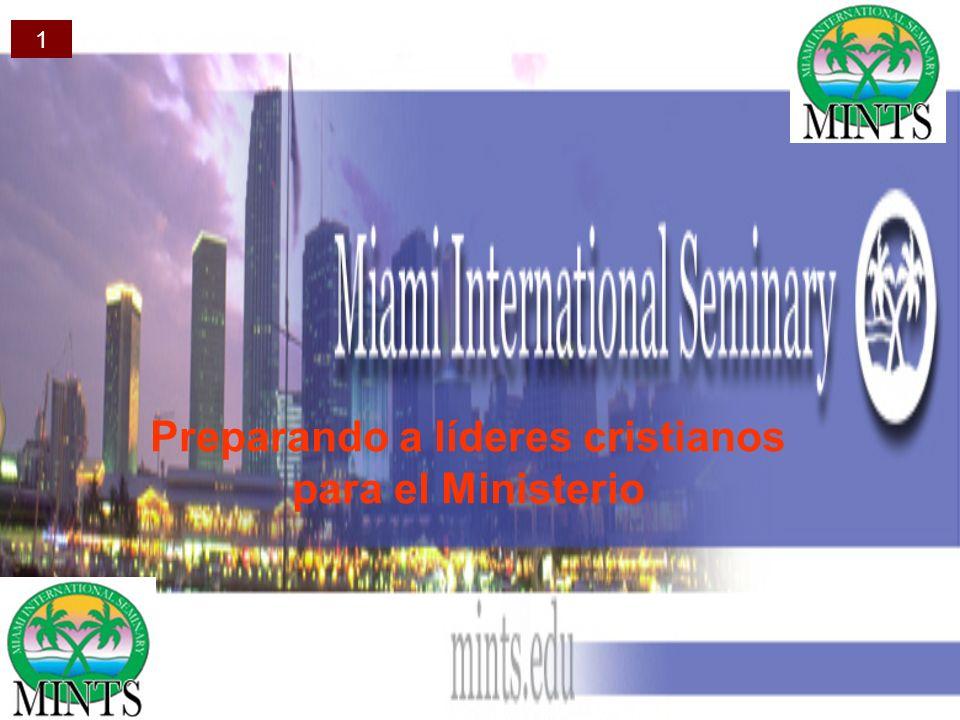 Preparando a líderes cristianos para el Ministerio 1
