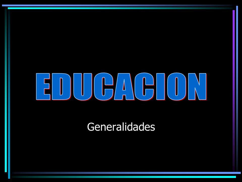 EDUCACION La educación tiene por objeto dar al cuerpo toda la belleza y la perfección de que son susceptibles Platón La educación consiste en hacer al hombre lo menos imperfecto posible Aristóteles Enseñar, es escribir en las almas Platón
