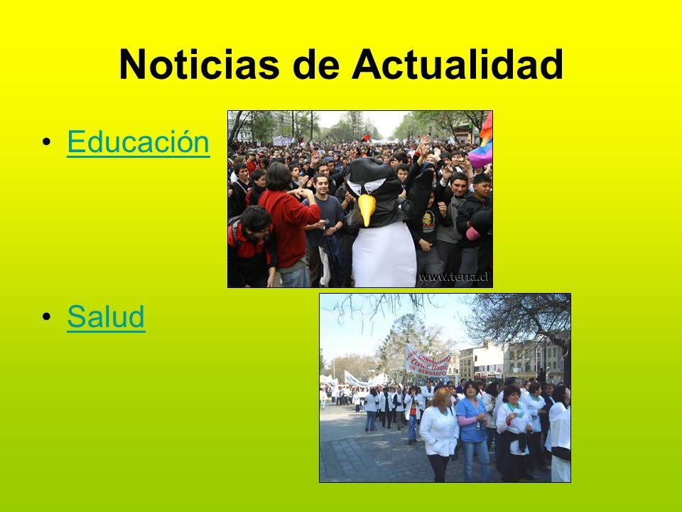 Noticias de Actualidad Educación Salud