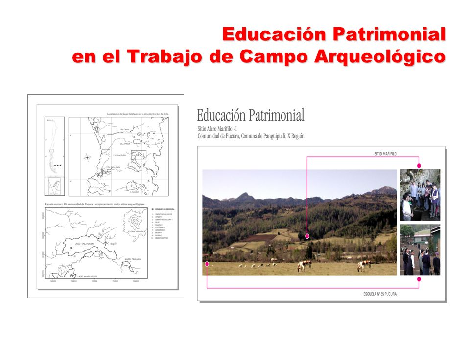 Educación Patrimonial en el Trabajo de Campo Arqueológico