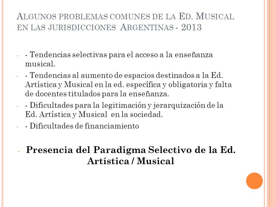 A LGUNOS PROBLEMAS COMUNES DE LA E D.