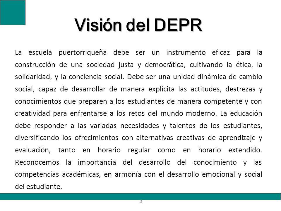 La escuela puertorriqueña debe ser un instrumento eficaz para la construcción de una sociedad justa y democrática, cultivando la ética, la solidaridad