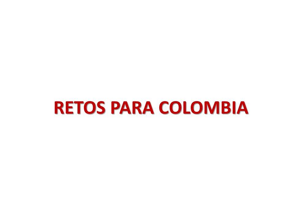 RETOS PARA COLOMBIA