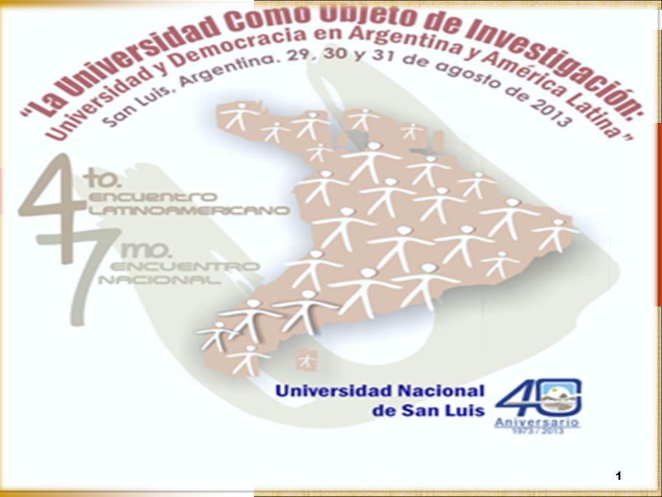 Gobierno universitario y comportamiento institucional: experiencias, agendas, desafíos Adrián Acosta Silva Congreso La universidad como objeto de investigación.
