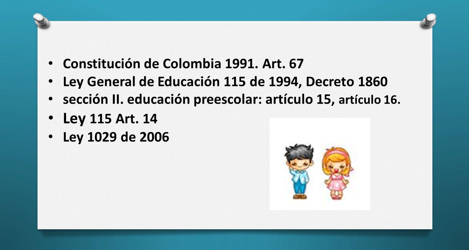 Constitución de Colombia 1991.Art.