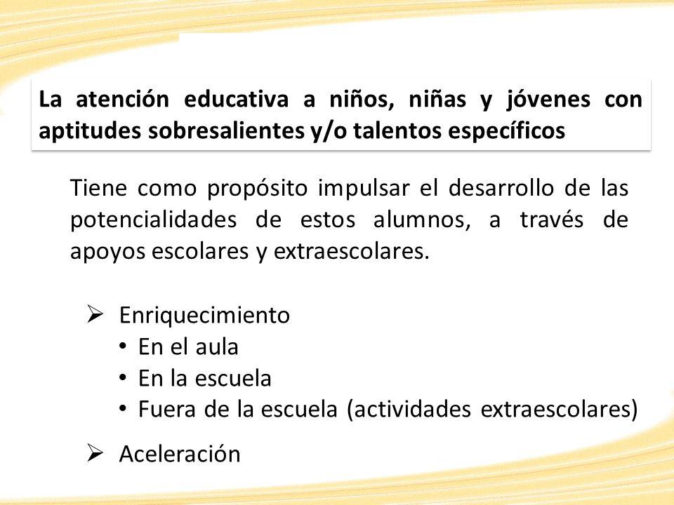 Referentes internacionales estiman que entre el 10% y el 15 % de la población escolar presenta aptitudes sobresalientes.