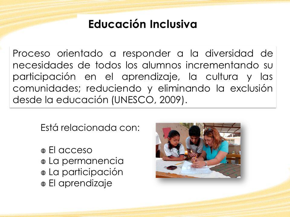 ¿Qué necesitamos hacer para alcanzar el ideal de la educación inclusiva.