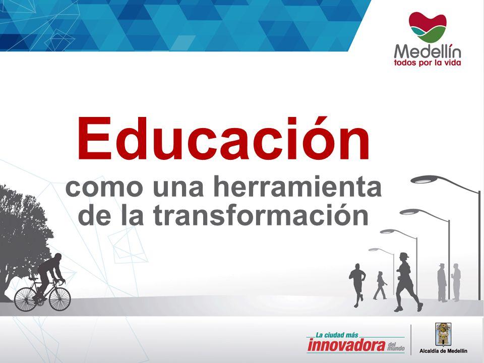 Educación como una herramienta de la transformación